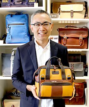 鞄の専門店 ヒロセ 株式会社 広瀬 代表取締役 広瀬 充弘